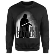 Star Wars Darth Vader I Am Your Father Silhouette Sweatshirt - Black