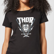 Marvel Thor Ragnarok Asgardian Triangle Women's T-Shirt - Black