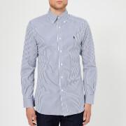 Polo Ralph Lauren Men's Formal Stripe Twill Shirt - Azure/White