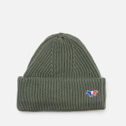Maison Kitsuné Men's Ribbed Hat - Light Khaki