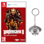 Wolfenstein II: The New Colossus + Airborne Infantry Metal Keychain