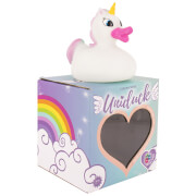 Unicorn Duck Light Up Bath Duck