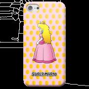 Coque smartphone nintendo super mario princesse peach iphone android samsung s8 coque double vernie