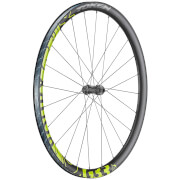 Token RoubX Prime Disc Carbon Tubeless Ready Neon Gravel Wheelset - Shimano