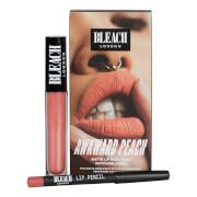 Купить Набор Матовая жидкая губная помада и карандаш для губ BLEACH LONDON Lip Kit Awkward Peach