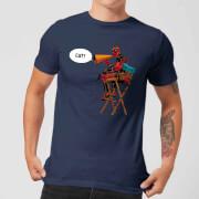 T-Shirt Homme Deadpool Fait son Réalisateur Marvel - Bleu Marine