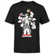 Marvel Deadpool Multitasking Herren T-Shirt - Schwarz