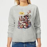 Sudadera Marvel Deadpool Merchandising - Mujer - Gris - 3XL - Gris