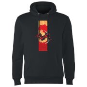 Marvel Deadpool Blood Strip Hoodie - Black