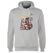 Marvel Deadpool Merchandise Royalties Hoodie - Grey