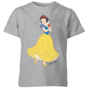 Disney Princess Schneewittchen Classic Kinder T-Shirt - Grau