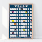 Image of 100 Games Bucket List Poster