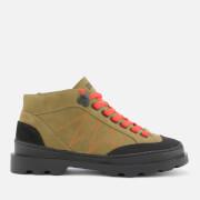 Camper Women's Brutus Hiker Style Boots - Tan - UK 4 - Tan