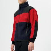 Billionaire Boys Club Men's Sherpa Fleece - Red - L - Red
