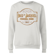 American Gods Ibis And Jacquel Women's Sweatshirt - White