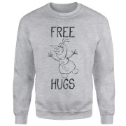 Frozen Olaf Free Hugs Sweatshirt - Grey