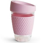 Sagaform Glass Mug - Pink