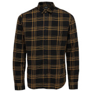 Only & Sons Men's Othan Long Sleeve Check Shirt - Spectra Yellow
