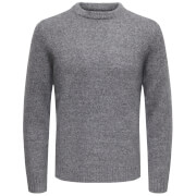 Only & Sons Men's Patrick Premium Jumper - Mid Grey Marl