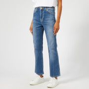 Victoria, Victoria Beckham Women's Cali Jeans - Mineral Wash - W25 - Blue