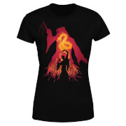 Harry Potter Dumbledore Silhouette Women's T-Shirt - Black