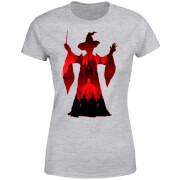 Harry Potter Minerva McGonagall Silhouette Women's T-Shirt - Grey