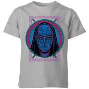 Harry Potter Neon Death Eater Mask Kids' T-Shirt - Grey