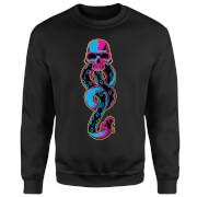 Harry Potter Neon Dark Mark Sweatshirt - Black