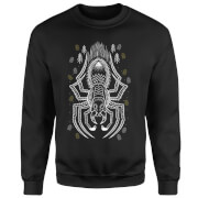 Harry Potter Aragog Line Art Sweatshirt - Black