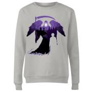 Harry Potter Graveyard Silhouette Women's Sweatshirt - Grey