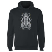 Sweat à Capuche Homme Dessin au Trait Aragog - Harry Potter - Noir