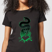 Harry Potter Basilisk Silhouette Women's T-Shirt - Black