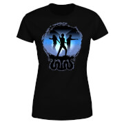 Harry Potter Silhouette Attack Women's T-Shirt - Black