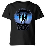 Harry Potter Silhouette Attack Kids' T-Shirt - Black