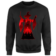 Harry Potter Minerva McGonagall Silhouette Sweatshirt - Black