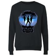 Harry Potter Silhouette Attack Women's Sweatshirt - Black