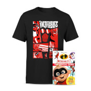 Lot Les Indestructibles 2 Disney Pixar - T-Shirt et Livre