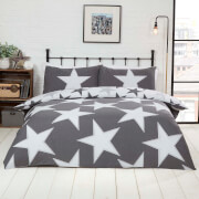 All Stars Duvet Set - Grey