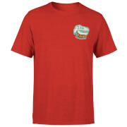 Natural History Museum T-Rex Badge Men's T-Shirt - Red
