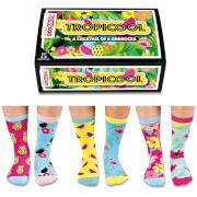 United Oddsocks Women's Tropicool Socks Gift Set
