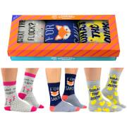 Cockney Spaniel Women's Novelty Socks Gift Box