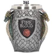 Game of Thrones House Targaryen Tankard