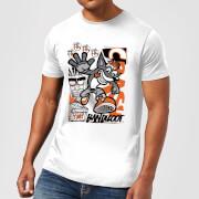 Crash Bandicoot High Four Men's T-Shirt - White