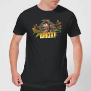 Crash Bandicoot WHOA! Men's T-Shirt - Black