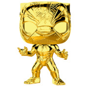 Marvel Studios 10th Anniversary Black Panther Gold Chrome Funko Pop! Figuur