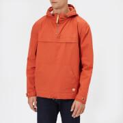 Armor Lux Men's Water Repellent Fisherman's Smock Jacket - Orange Henne - L - Orange