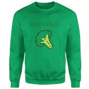 Broccoholic Sweatshirt - Kelly Green - S - Kelly Green