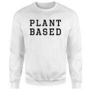 Plant Based Sweatshirt - White - M - White
