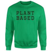 Plant Based Sweatshirt - Kelly Green - L - Kelly Green