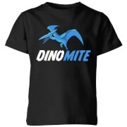 Dino Mite Kids' T-Shirt - Black